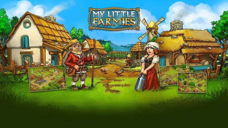 Онлайн-игра My Little Farmies