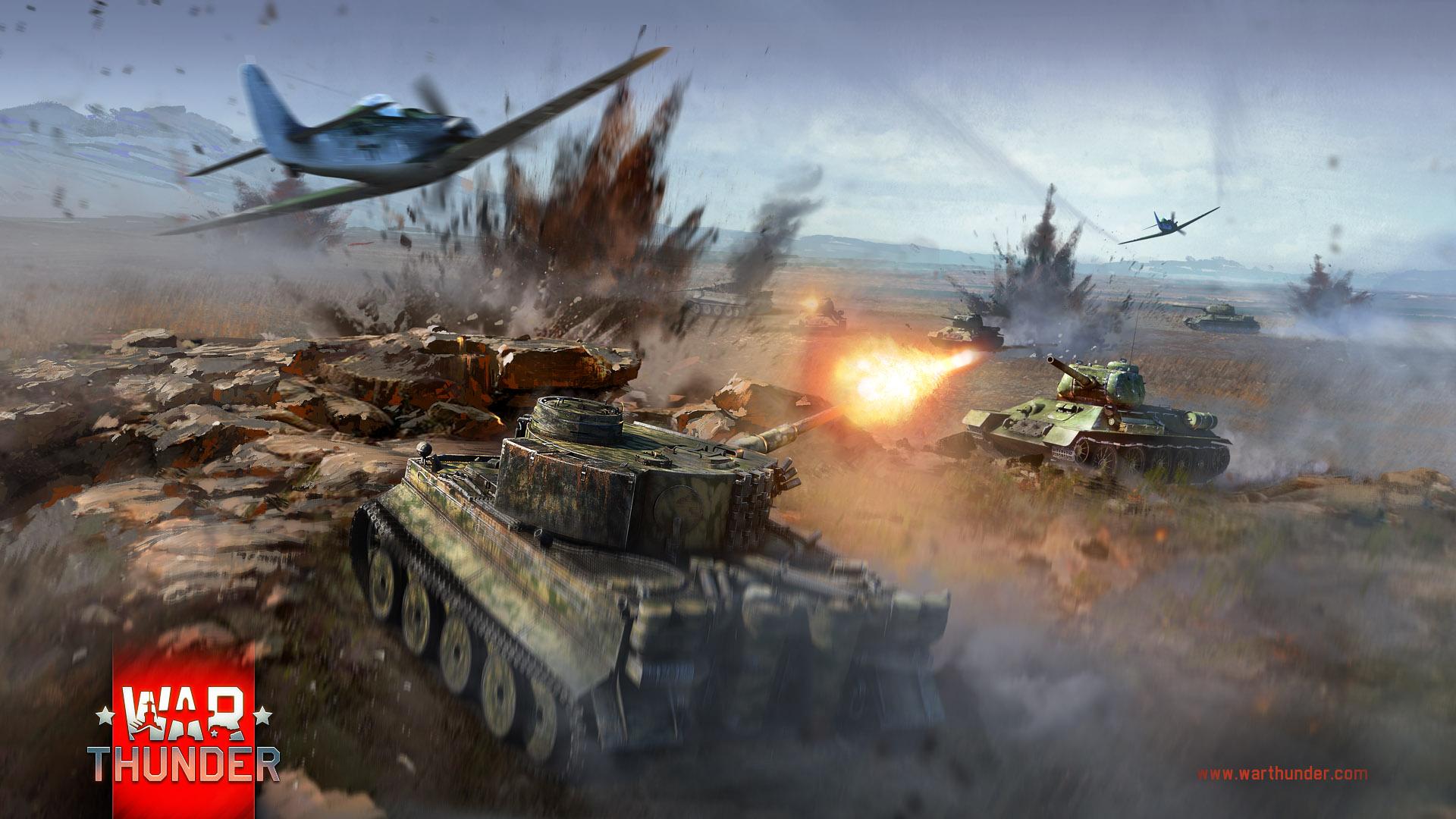 онлайн игра вар тандер танки